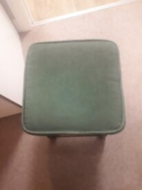 Cool wooden green stool