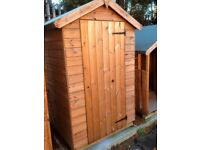 6x4 APEX SHED FULLY TONGUE AND GROOVED DELIVERED