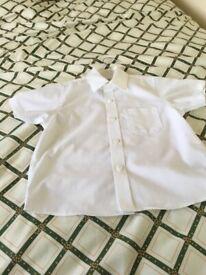 M and S Boy,s white shirt brand new