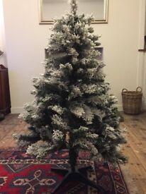 Homebase 4ft Snowstorm Christmas Tree