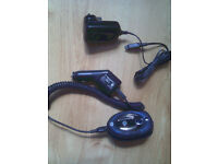 motorola hf800 with case car and mains charger
