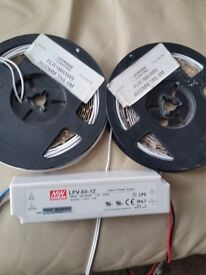 Two reels of LED lights for sale