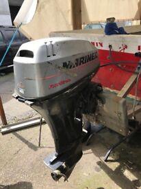 25hp Mariner outboard engine big foot 2001 model