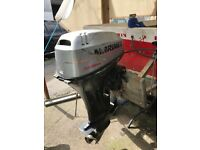 25hp Mariner outboard engine big foot 2001 model