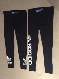 Adidas gym leggings.