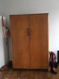 Antique Rosewood Wardrobe
