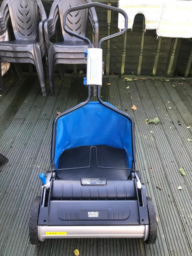 Macalister cylinder lawn mower
