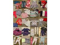 Over 60 Items Of Baby Clothing