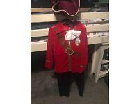 Disney Captain Hook costume (7-8yrs)