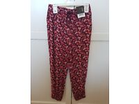 Girls new summer trousers with tags