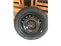 Spare tyre full size for Renault megane 2008-2015, very hard to find this type.