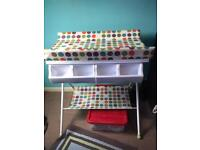 Lovely baby changing unit station bath changing mat