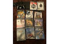 Sony slim ps2 bundle with games