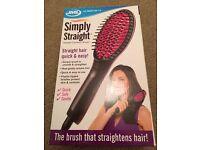 JML Simply Straight Ceramic Hair Straigtening Brush