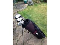 Golf Clubs and bag in Excellent condition.