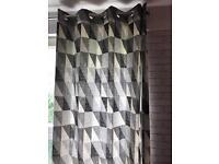 """Curtains size 226cm x 228cm (90"""" x 90"""")"""