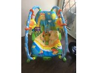 Tiny love baby bouncer chair