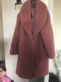 Brand new Next coat, pink, size 12. Collection Norwich