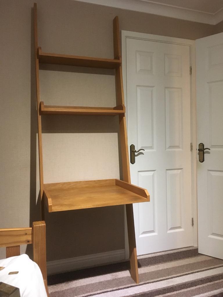 Ladder Style Desk And Shelves