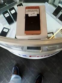 Sony Xperia XA rose gold 16gb boxed new