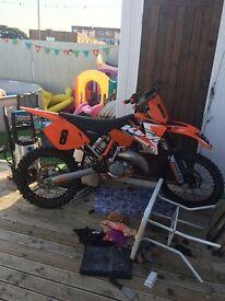 Ktm 125sx motocross bike 2003