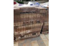 2 x packs (500 bricks per pack) Ibstock wylam olde blend bricks new