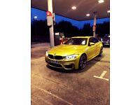 2014 BMW M4 AUSTIN YELLOW DCT 3,0- MASSIVE SPEC-FSH-13K MILES-M3-RS5-RS3-C63-M5
