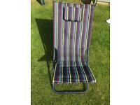 Garden folding chair