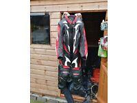 Full motorbike leathers