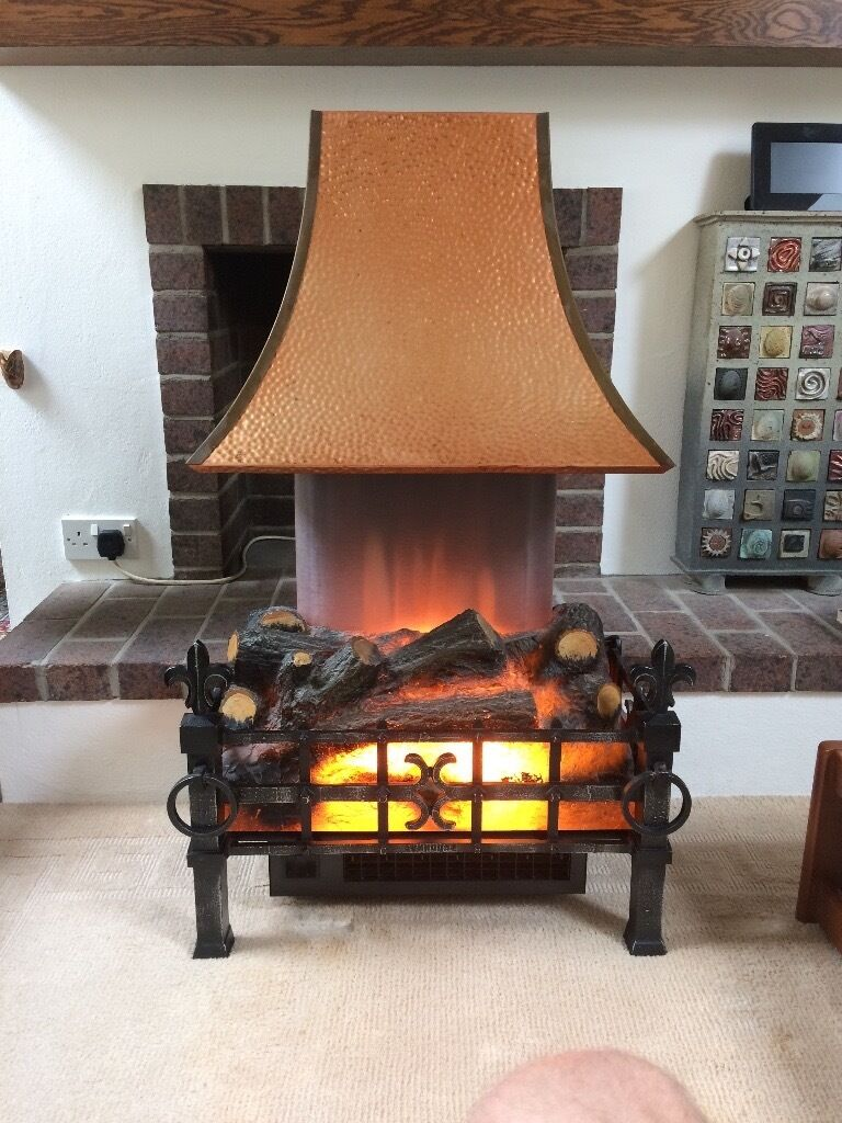 retro vintage u0027sunhouse u0027 electric fire with copper hood in newry