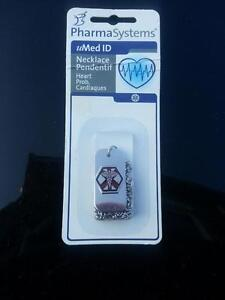 MED ID NECKLACE NEW