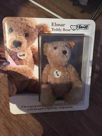 Steiff boxed Elmar bear