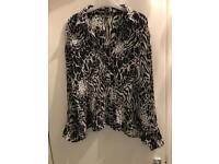 Marks and Spencer Ladies Blouse Size 18
