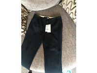Brand new with tags, next navy straight leg trousers, size 10
