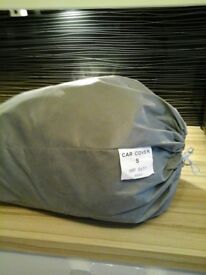 Grey Breathable Fabric Car Cover