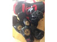 Tae kwon do martial arts sparring gear
