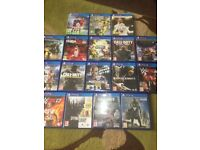 PlayStation 4 with 18 games