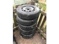 Cars and van tyre and rim