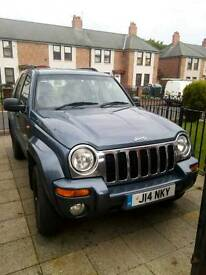 Cherokee Jeep 2.5 CRD Reluctant Sale Beautiful Motor