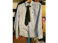 Mens Penguin shirt with tie