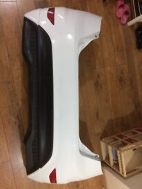 ford fiesta bumper and spoiler