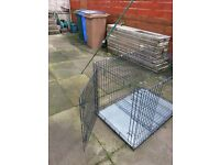 etra large dog cage
