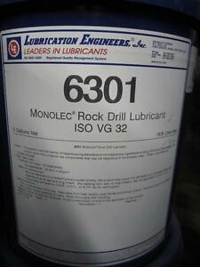 LUBRICATION ENGINEERS 6301 MONOLEC ROCK DRILL LUBRICANT