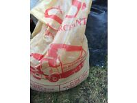 x5 Builders sand and x3 bags type one MOT