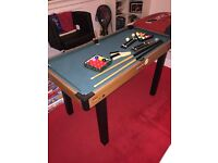 kids pool table in good condition, 2ft x 4ft