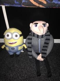 Gru and minion