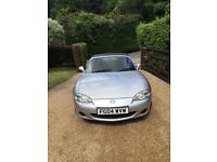 Mazda MX5 Silver Low Mileage (72,349) **OFFERS WELCOME FOR A QUICK SALE**