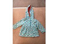 3-6 mths girls coats (inc. John Lewis) - 1 new, 1 used