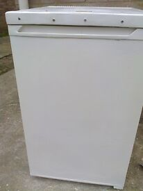 EELECTRA UNDER COUNTER WHITE FRIDGE WITH ICEBOX 55CMWIDE