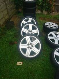 Vw audi wheels tyres 5x130 R19